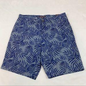 Michael kors fern leaves jungle classic shorts